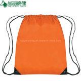 Heiße Verkaufs-preiswerte Einkaufstasche-fördernder Polyesterdrawstring-Rucksack