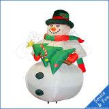 Модель цветастого снеговика шарфа раздувная для рекламировать