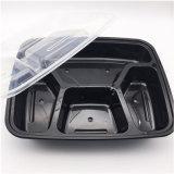 Microwaveable Fiambrera de plástico personalizadas y redondas y rectangulares circulares quitarle