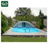 Telescopische Dekking van het Aluminium van de Prijs van China de Goede Openlucht voor Zwembad
