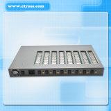 100%はPABX System&VoIPのゲートウェイ(Etross-8888)に保証した8機のポート64 SIMのカードのGSM固定無線ターミナル互換性がある