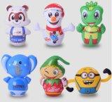 Vaso inflable del diseño del personaje de dibujos animados del PVC