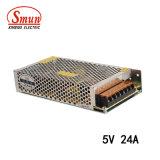 Smun S-120-5 120W 5VDC 24A AC-DC IP20 Stromversorgung