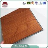 Palillo auto-adhesivo de lujo del suelo del vinilo del PVC para DIY