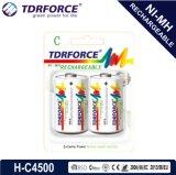 batterie inférieure rechargeable de la Chine Fatory d'hydrure en métal de nickel de la décharge spontanée 1.2V (HR6-AA 800mAh)