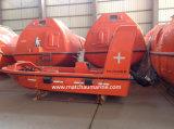 Type ouvert bateau de sauvetage de 6 personnes de soldat de marine