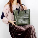 2018 высшего качества крокодиловая кожа Cow сумку для женщин
