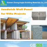 Metaloide Tableros/resistencia al impacto de paneles sándwich EPS para la edificación residencial