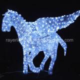 [لد] حصان حجر السّامة تصميم حديقة ضوء حزب زخرفيّة خفيفة [فلينغ هورس] أضواء