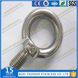 Parafusos de olho do aço inoxidável JIS1168