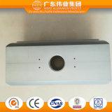 6063 produits T5 en aluminium du groupe en aluminium d'usine de Weiye