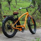 뚱뚱한 타이어 Reat 모터 500W 전기 자전거