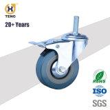 Preiswerte Schwenker-Verschluss-Möbel-Fußrolle, industrielle Fußrolle