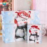 Оптовые продажи с возможностью горячей замены новый мешок для упаковки бумаги рождественских подарков с логотипом
