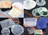 Vollautomatische Plastikjoghurt-Cup, die Maschine herstellen