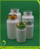 Бутылка микстуры HDPE пластичный упаковывать пластичная с крышкой золота