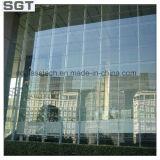Vetro/vetro glassato Tempered ultra della feritoia chiaro per costruzione