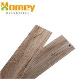 Hot Sale du grain du bois parquet mosaïque en PVC