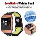 26mm novas cores de dupla faixa de relógio de Silicone macio Alça para Fitbit Ionic