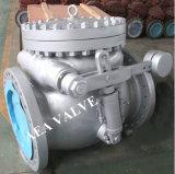 Válvula de verificación ensanchada difícilmente hecha frente de oscilación del ajuste 13cr de A216 Wcb