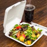 生物分解性の使い捨て可能なサトウキビの製品のお弁当箱