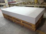 12mm de losas de la encimera de Corian Superficie sólida de acrílico blanco