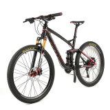 26er 20speed Mountian Fahrrad mit vollem Aufhebung-Aluminiumrahmen
