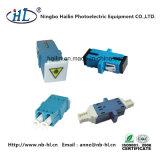 Sc Sm/PC Adaptador de fibra óptica com a Obturação por sorriso para FTTH Council