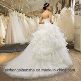 weg Schulter-von den bräutlichen formales Kleid-eleganten in voller Länge Hochzeits-Kleidern