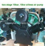 Compressore d'aria senza olio per la macchina del sorter di colore