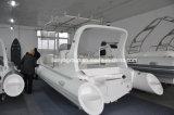Liya 6,6m costilla Hypalon Barco Barco de pesca bote inflable rígido