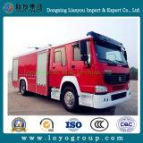 Пожарные машины колес LHD Sinotruk HOWO 6 для сбывания