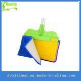Lavette de poussière propre et flexible superbe multifonctionnelle de Microfiber de côtés de double de lavette de poussière
