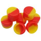 Custom 3ml 5 ml de jarros de Silicone Cera DAB recipiente para o recipiente de silicone de óleo de cera