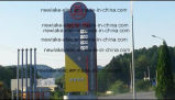 LED de 6 pouces Prix de la station de gaz signe (8,88)