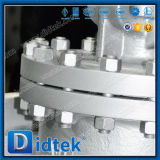 El vástago de levantamiento de Wcb de la industria de Didtek ASTM ensanchó válvula de globo