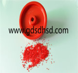Masterbatch de gránulos de plástico de color rojo de la película o el uso de la inyección