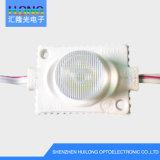 Modulo impermeabile di alto potere LED dell'indicatore luminoso laterale 3W che fa pubblicità all'indicatore luminoso della casella