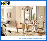 Tabela de jantar de mármore do quadrado moderno novo da mobília (HC2312)