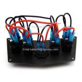 L'alluminio del comitato di precipitare con l'interruttore di attuatore chiaro dei 4 laser LED ha incluso per il Polaris Rzr 800 la S 570 XP 900 per possedere il voltmetro di Digitahi