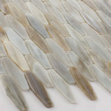 Nuevo azulejo Backsplash del vidrio de modelo del diseño para la pared casera de la cocina