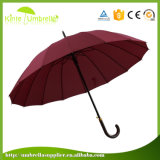 Guarda-chuva reto relativo à promoção do pátio automático quente da venda