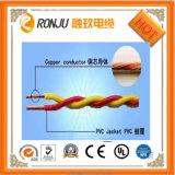 O PVC de cobre do núcleo isolou fio flexível Twisted