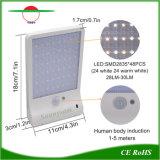 Sensor de menino humano Piscina Jardim de iluminação LED solares luzes da rua