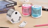 Doppeltes durchlöchert Batterie-elektronischen Bleistiftspitzer/automatischen Bleistiftspitzer