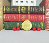 Medalla de oro brillante de la aleación del cinc del espacio en blanco de la pieza inserta económica