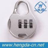 Arbeitsweg-Beutel-Minikennwort-Kombinations-Vorhängeschloß (YH9918)