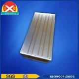 Dissipador de calor de alumínio expulso do perfil com tubulação de calor