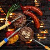 Бестселлер Амазонкы вилки 32 дюймов Extendable для ручек Roasting проскурняка BBQ