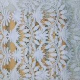 Merletto svizzero della maglia di immaginazione della guarnizione del ricamo del poliestere delle azione della fabbrica del merletto per l'accessorio degli indumenti e le tessile domestiche